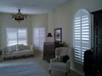 Polywood Shutters with Arch